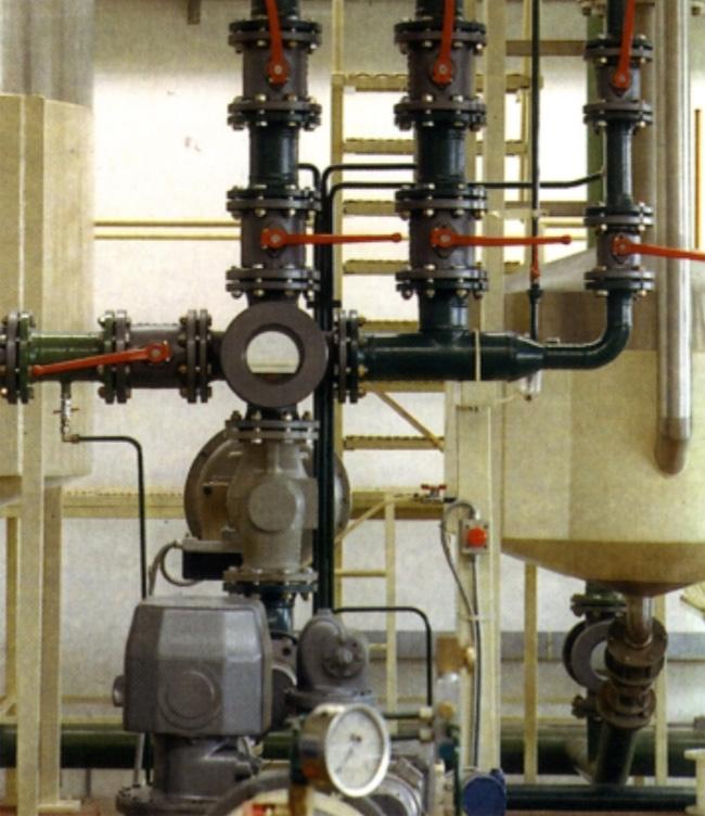 Mjeriteljska instalacija za naftne derivate