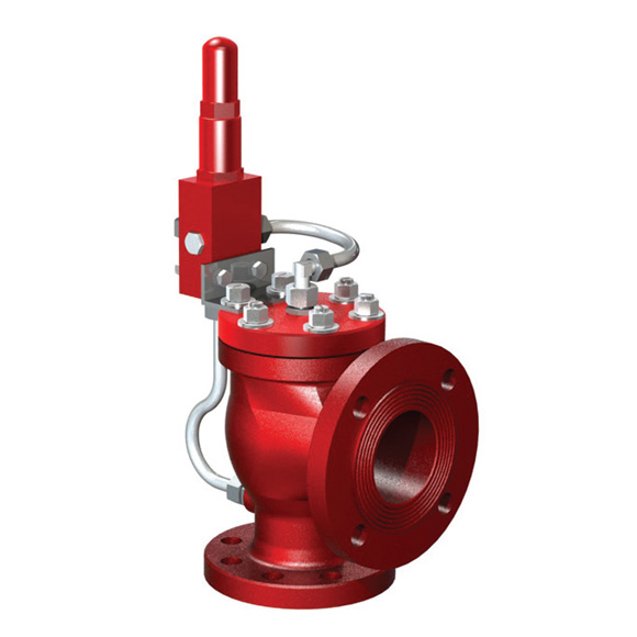 Pilot-operated safety relief valve type SVP-P | Safety relief valves