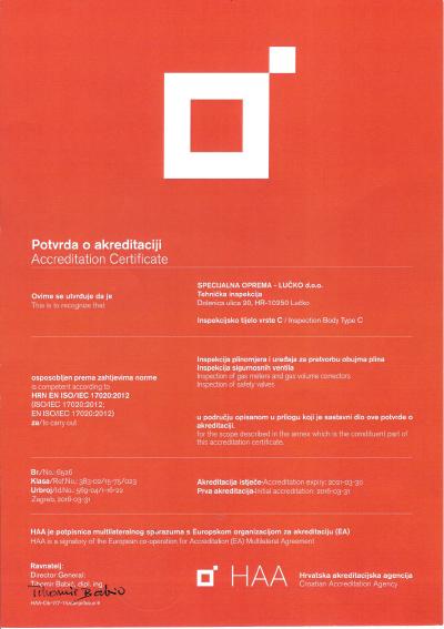 HRN EN ISO/IEC 17020:2012