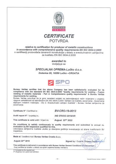 EN ISO 3834-2:2005